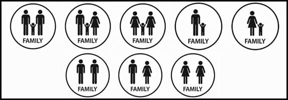 15 de mayo d a internacional de la familia trazos digital for Tipos de familia pdf