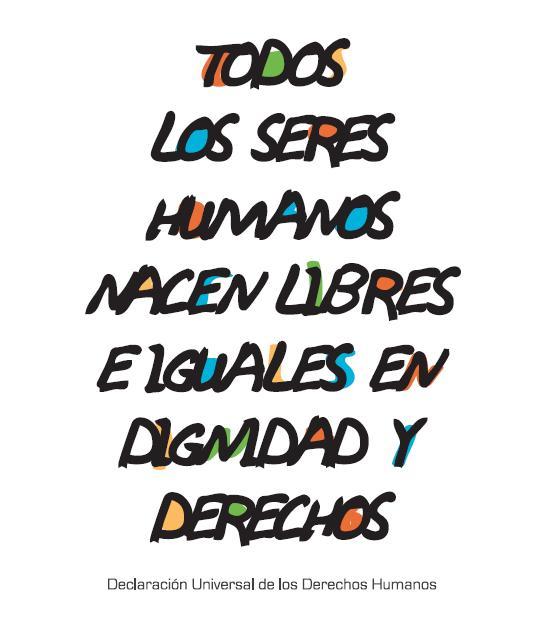 10 de diciembre d a de los derechos humanos trazos digital for Que es un articulo cultural o de espectaculos