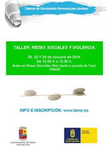 cartel taller Teror (1)