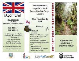 Cartel_senderismo_Lingxistico_Tenerife1
