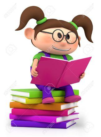 12859380-linda-chica-de-dibujos-animados-que-se-sienta-en-la-lectura-de-libros-ilustraci-n-3D-de-alta-calidad-Foto-de-archivo