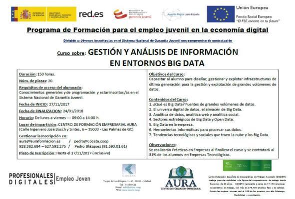 Profesor big data