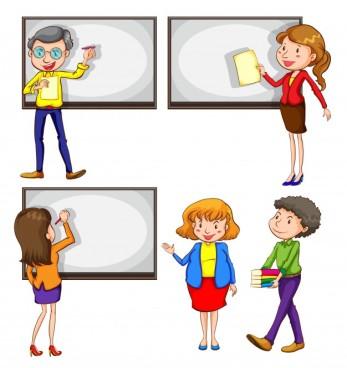 un-dibujo-de-los-profesores-de-sexo-masculino-y-femenino-sobre-un-fondo-blanco_1308-2735